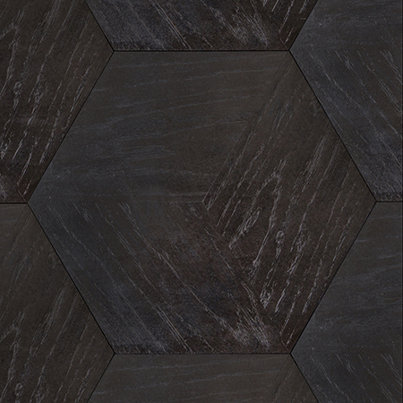 Hexagon 3D Black