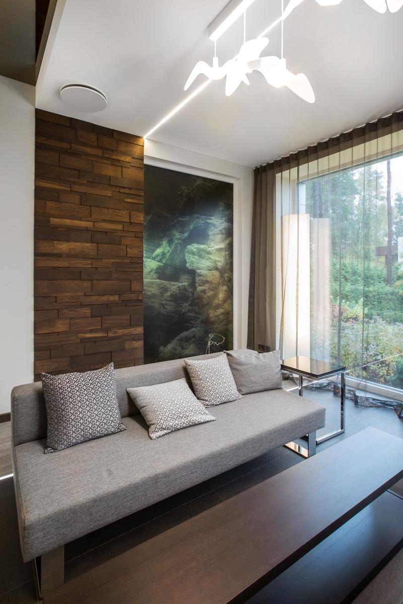 Custom wooden wall panels