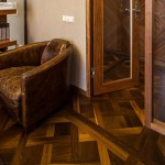 Walnut Parquet Floor classic design