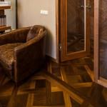 Walnut Parquet Floor classic design