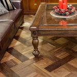 Wood flooring showroom in Saint Petersburg