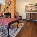 Medinės grindys ant šildomų grindų, ąžuolas
