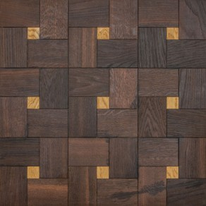 Custom, handmade parquetry tiles