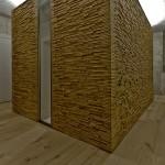 medinės sienių panelės