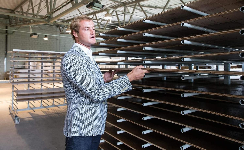 Gintaras Glicas Bonum Wood gamykloje