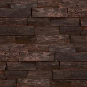 Custom, handmade bog oak wall panels
