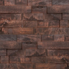 Custom, handmade wood wall panels