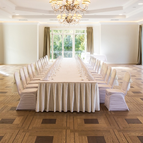 Custom Parquetry for venues