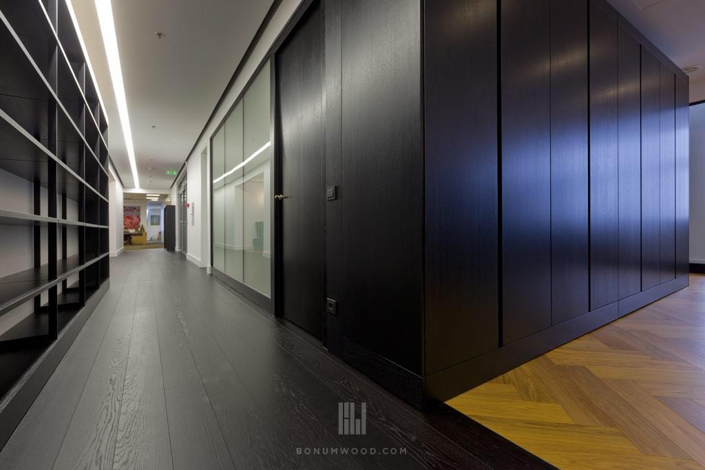 Commercial custom flooring