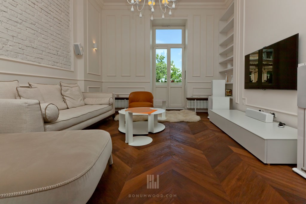 Residential custom flooring