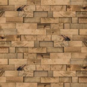Custom, handmade wood wall panels