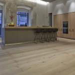 Custom wood flooring grey