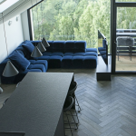 Engineered herringbone flooring, 90 degree herringbone flooring, mansard flooring, mansard hardwood flooring